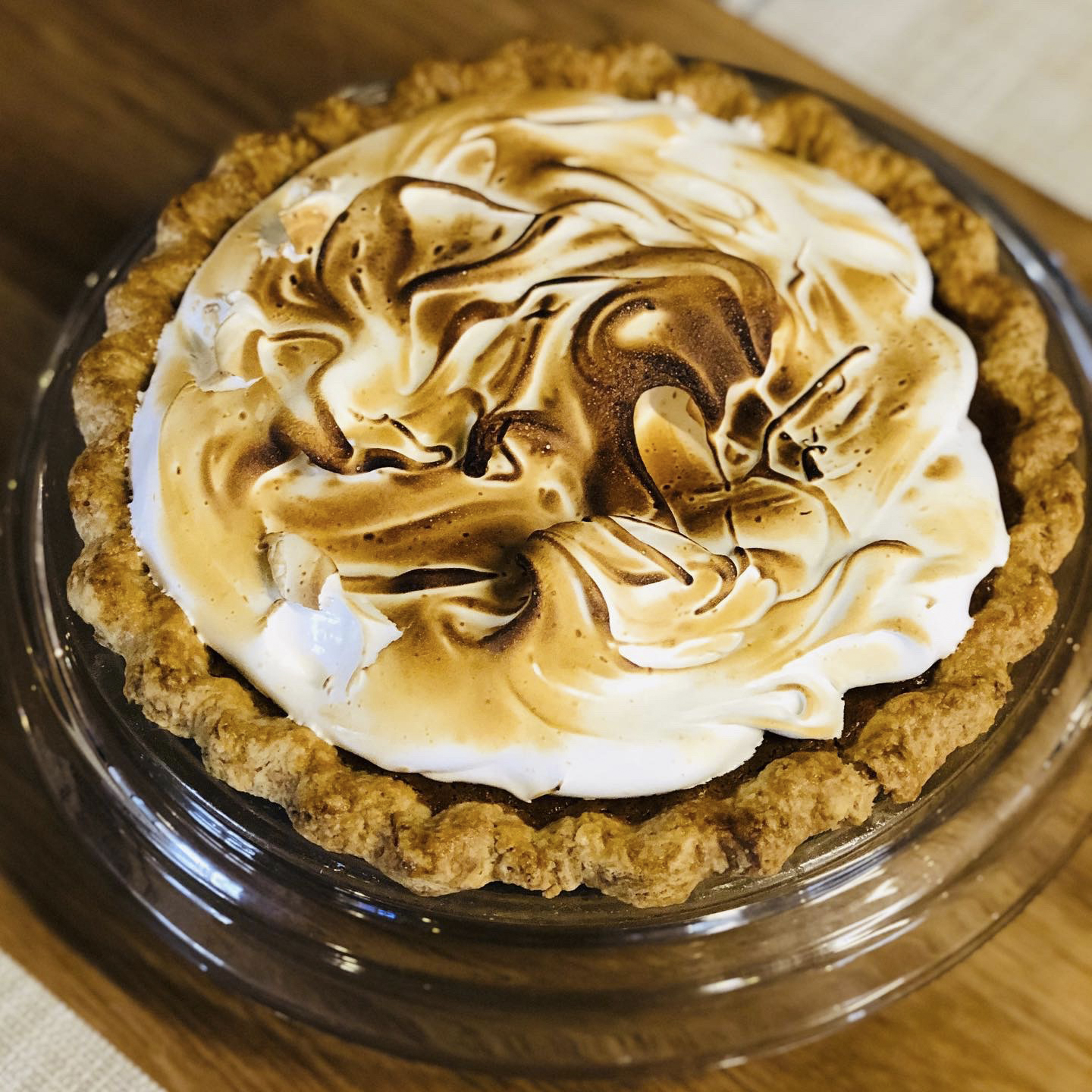 Pie Pumpkin Meringue